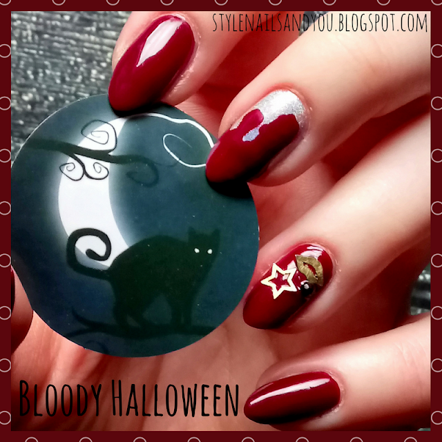Bloody Halloween | Christmas Nail Slice Wheel | BeautyBigBang Review
