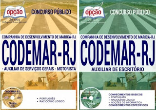 Apostila concurso CODEMAR Maricá RJ 2017
