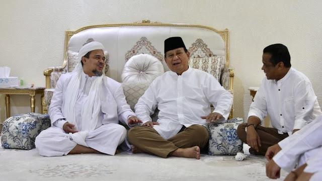 Inilah Tokoh di Balik Persahabatan Prabowo dan Habib Rizieq