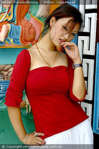 Nepali Modelnepali Glamour Nepali Model Cecilia Gurung -4857