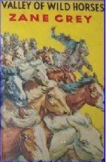 Novelas antiguas del oeste: El valle de los caballos salvajes