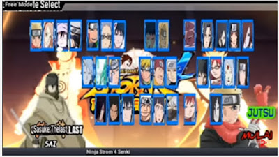 Naruto Senki Mod The Last V2 Terbaru