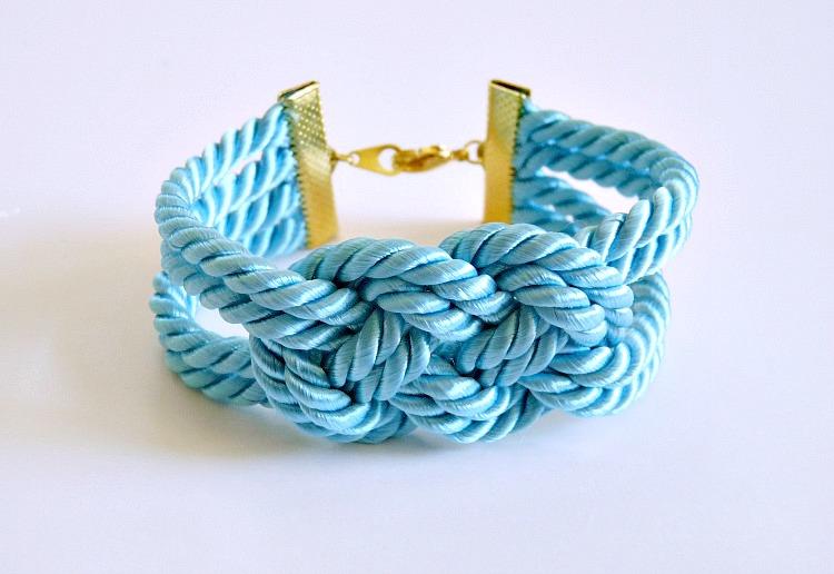 Easy DIY cord bracelet