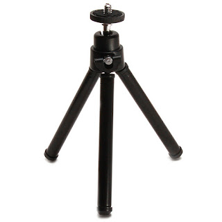 Universal Mini Extendable Tripod 20cm 2 Section Black