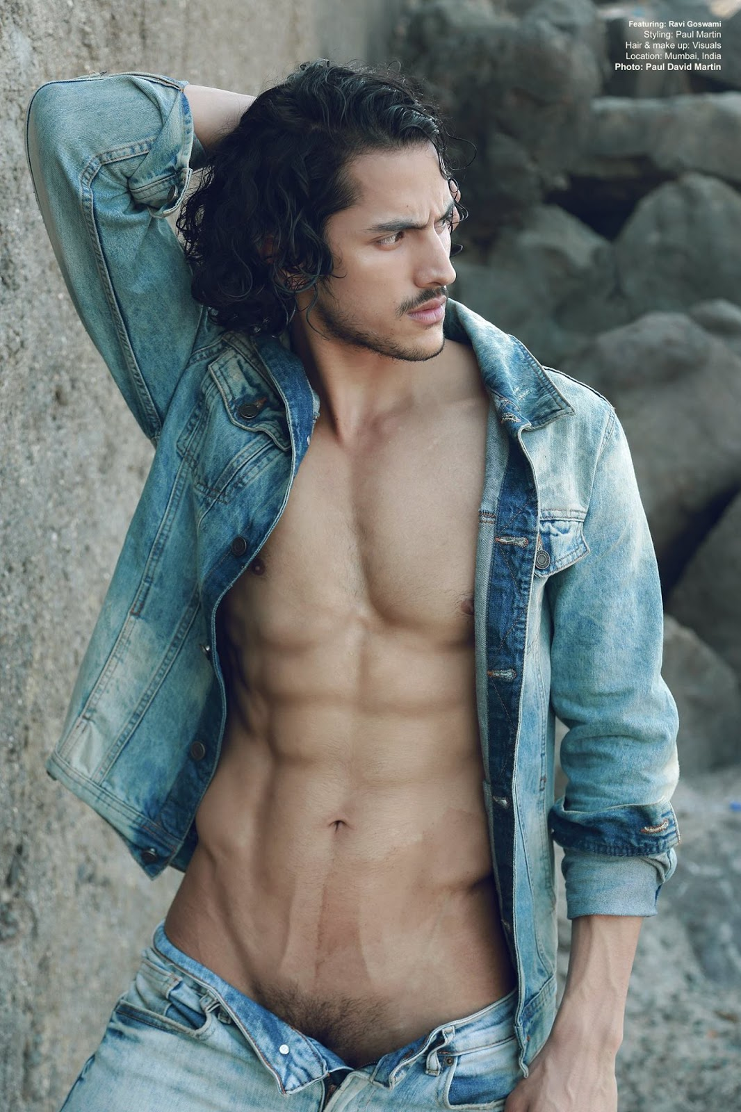 Shirtless Bollywood Men Indian Male Models And Their Pubes-1580