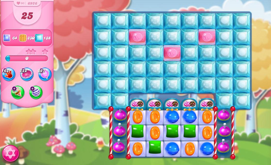 Candy Crush Saga level 6926