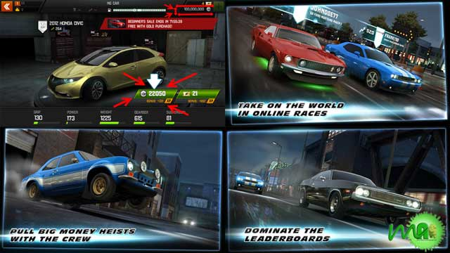 Fast & Furious 6: The Game Screenshot