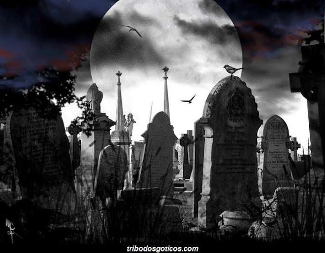 cemiterio a noite goticos