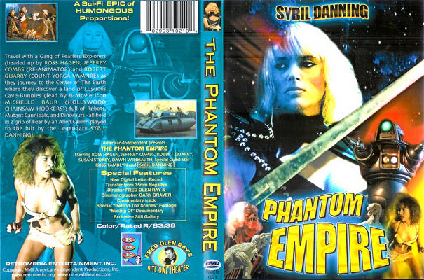the phantom empire VHS