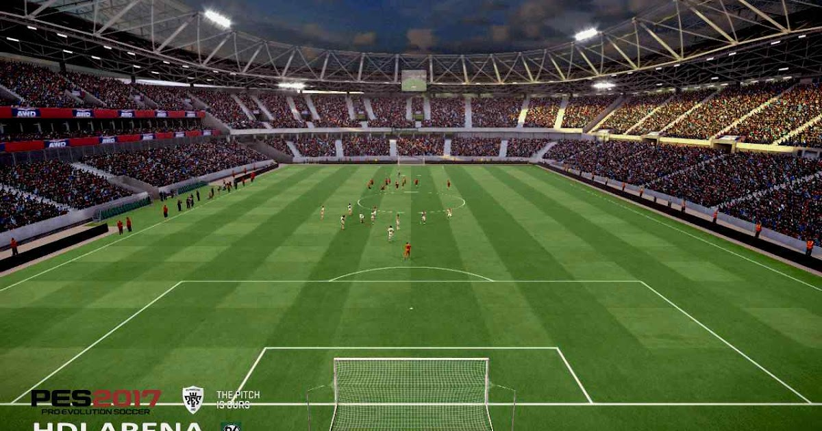ultigamerz: PES 2017 HDI Arena (Hannover 96) Stadium
