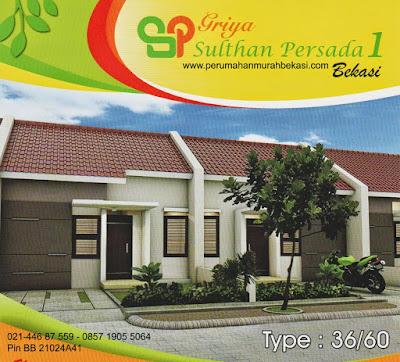 Griya Sultan Persada Rumah Subsidi Murah Tambun Bekasi 126juta