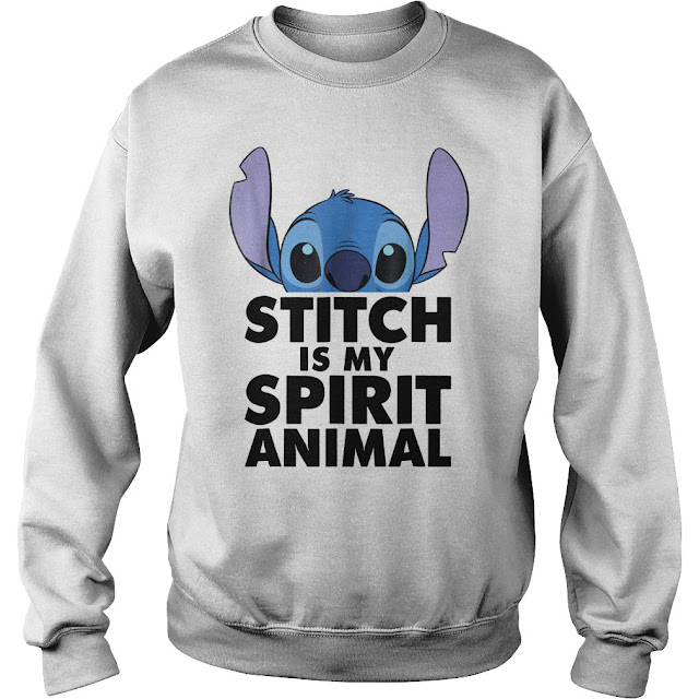 Stitch is my SPIRIT ANIMAL Hoodie, Stitch is my SPIRIT ANIMAL Sweatshirt, Stitch is my SPIRIT ANIMAL Sweater, Stitch is my SPIRIT ANIMAL T Shirt,