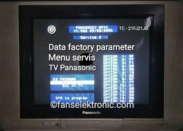 Data Factory Menu Servis TV Panasonic TC 21FJ21JU