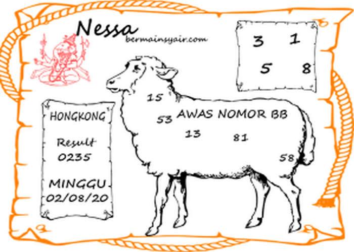 Kode syair Hongkong Minggu 2 Agustus 2020 163
