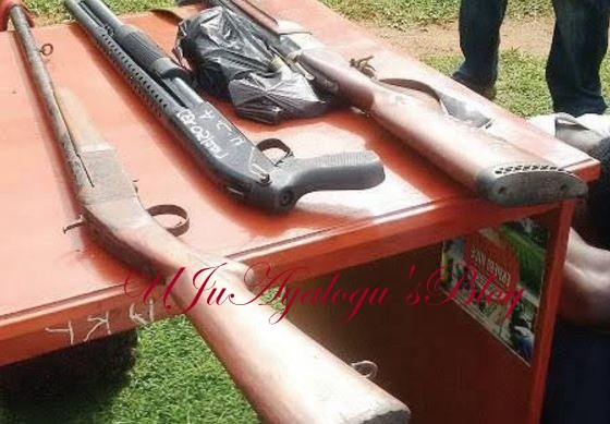 Ambrose Alli University Lecturers Belonging to a Deadly Cult Group Arrested with Guns (Photo)