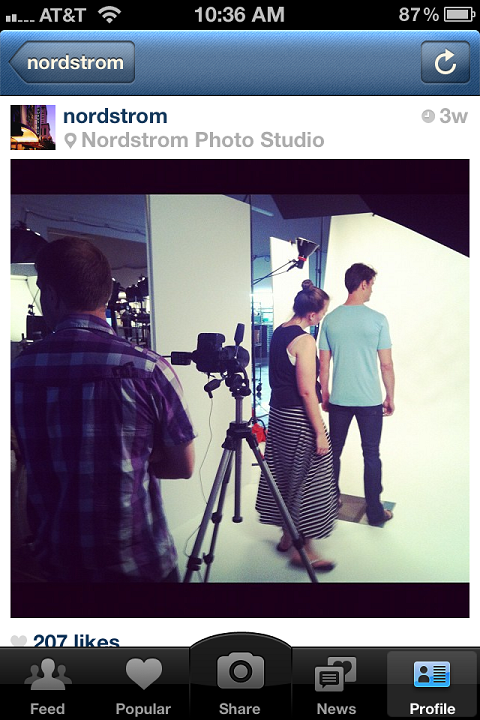 Nordstrom - Покажите процесс подготовки