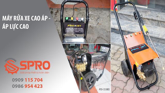 Số 1 về chất là lượng SPRO cung cấp máy rửa xe cao áp uy tính nhất