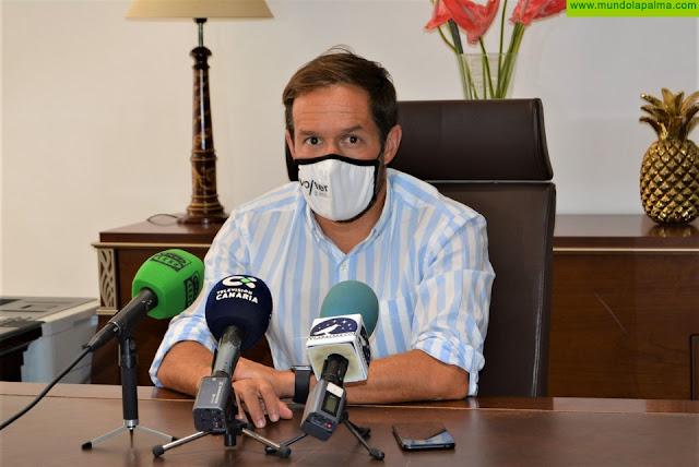 """H. Zapata: """"La seguridad y la economía de La Palma deben ser una prioridad para todas las administraciones"""""""