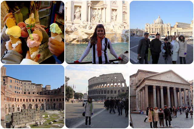 Roma / Itália / Vaticano / Fontana di Trevi / Pantheon / Coliseu