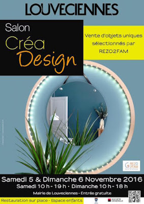 Affiche salon CreaDesign 2016