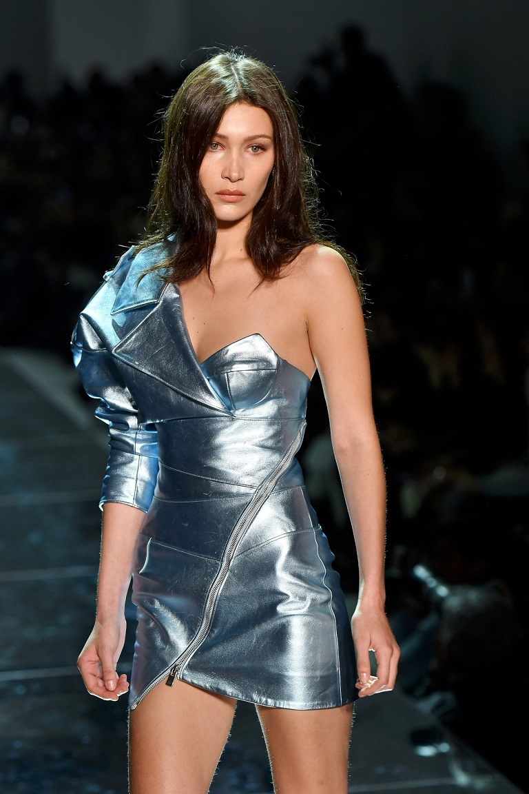 BELLA HADID – ALEXANDRE VAUTHIER FASHION SHOW IN PARIS