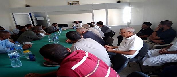 تارودانت :رئيس جماعة زاوية سيدي الطاهر يتضامن مع الجمعيات المدنية في رفض مشروع إفراغ مياه الصرف الصحي بوادي سوس