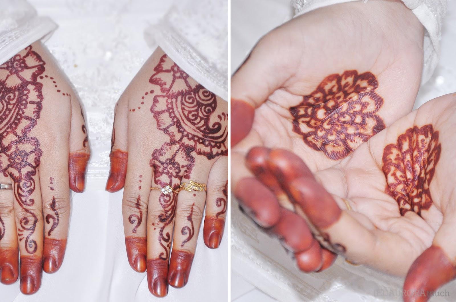 Gambar Henna Untuk Telapak Tangan Balehenna