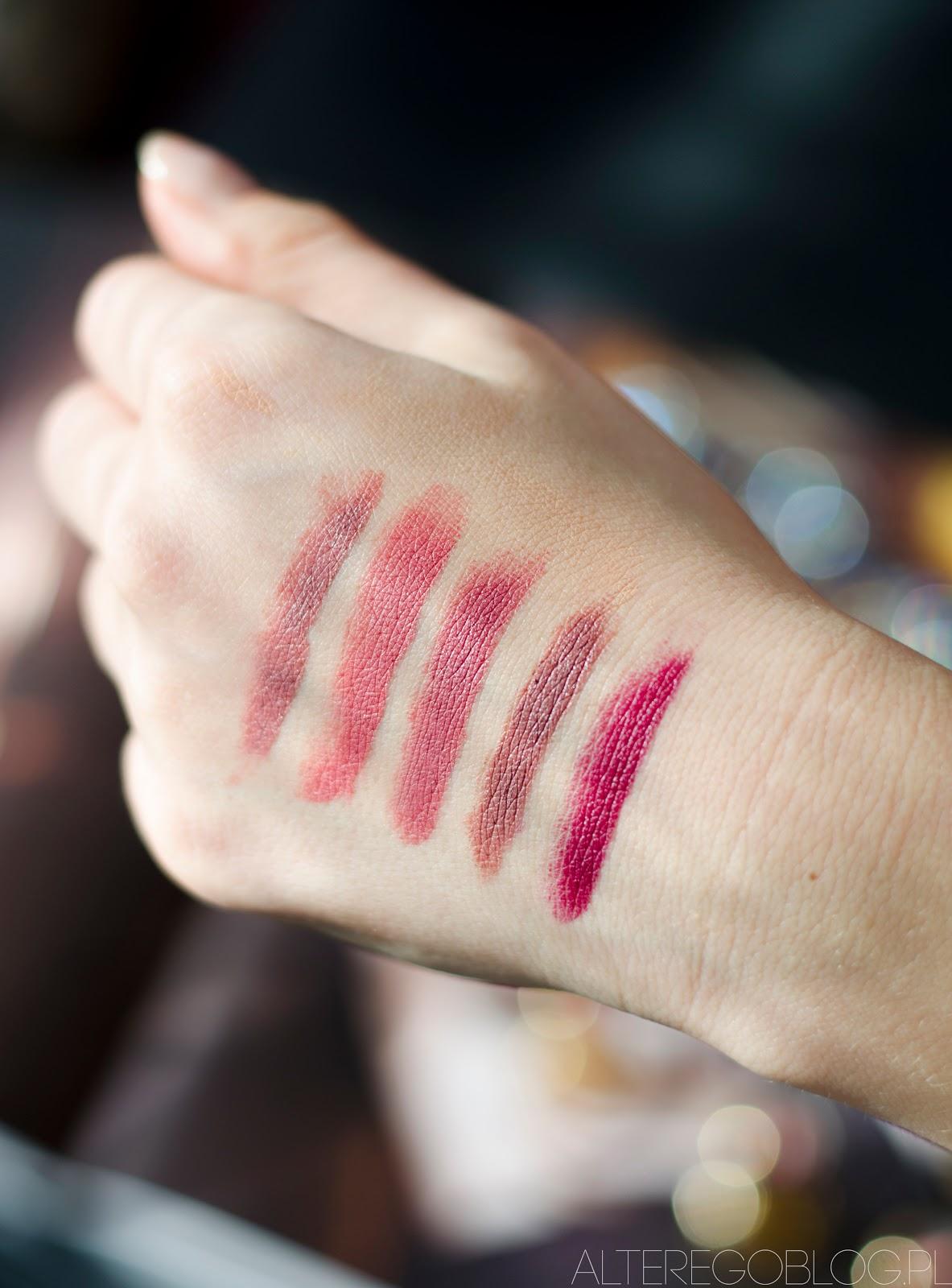 kobo matte lips, kobo matte lips edycja limitowana, kobo matte lips 413, 414, 415, 416, 417, matte lips recenzja, matte lips recenzja blog