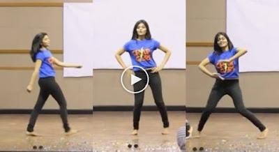 Girl Dance Performance Mesmerizes Everyone