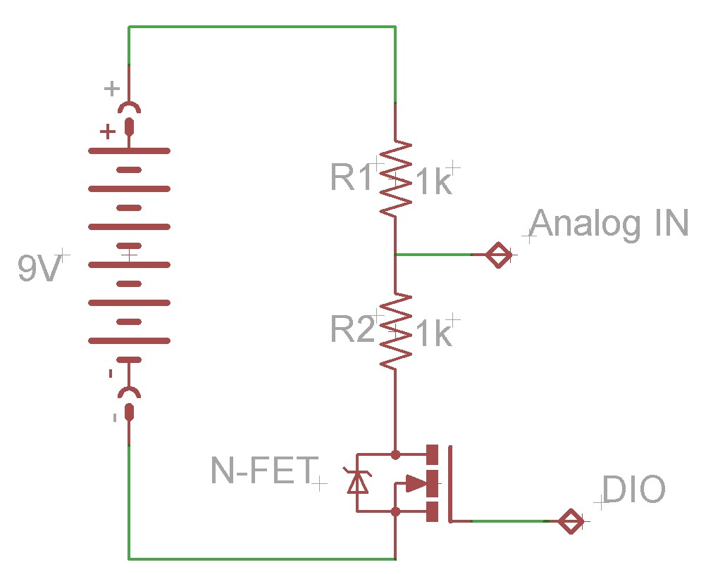 Fet Tricks Reducing Voltage Divider Load To Extend Battery Life High Side Sense Circuit Like This One Followed By A Current