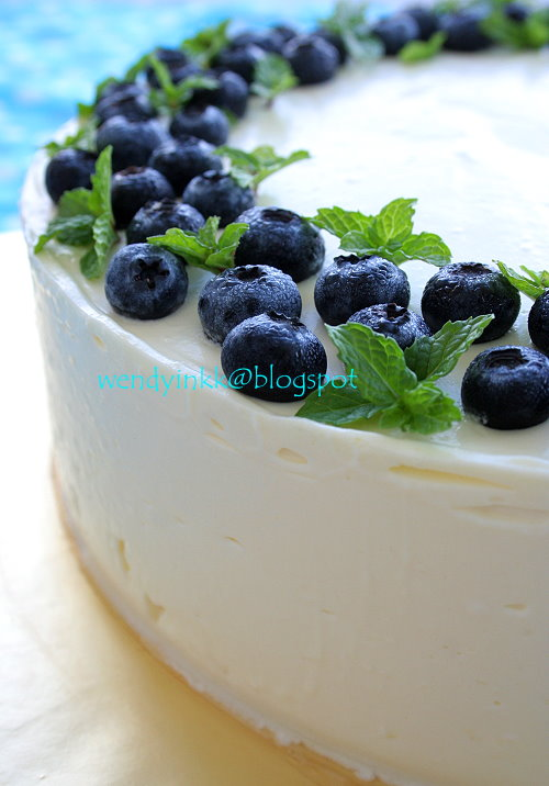 Blueberry Cake Filling Recipe