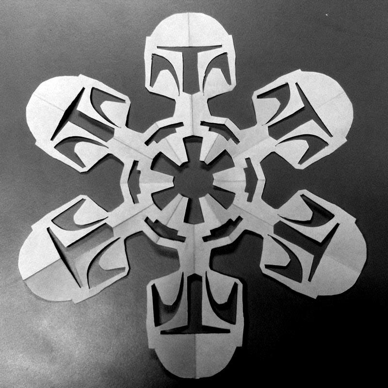 It\'s Snowing Star Wars! 10 new DIY Star Wars Paper Snowflake ...