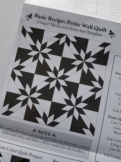 traditional Hunter's Star quilt layout