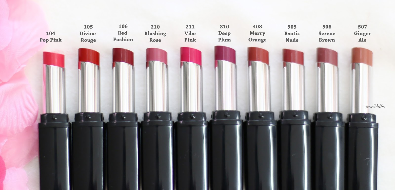 pixy, pixy matte in love, pixy lipstick, pixy cosmetics, lipstick, lips, makeup, drugstore, makeup murah, review, pixy matte in love semua warna