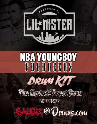 Lil Mister NBA Youngboy Producers Kit + Electra & Nexus XP | LEGION