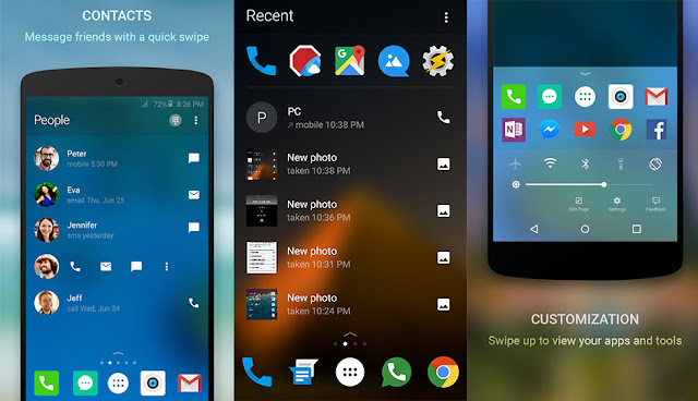 Arrow Launcher best launchers for android