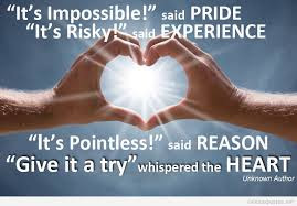 short inspirational quotes: it's impossible said pride,