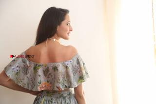 Actress Pragya Jaiswal Stills in Floral Dress at turodu Interview  0210.JPG
