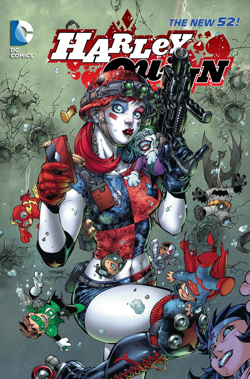 Harley Quinn Comic New 52 Cover | www.pixshark.com ...