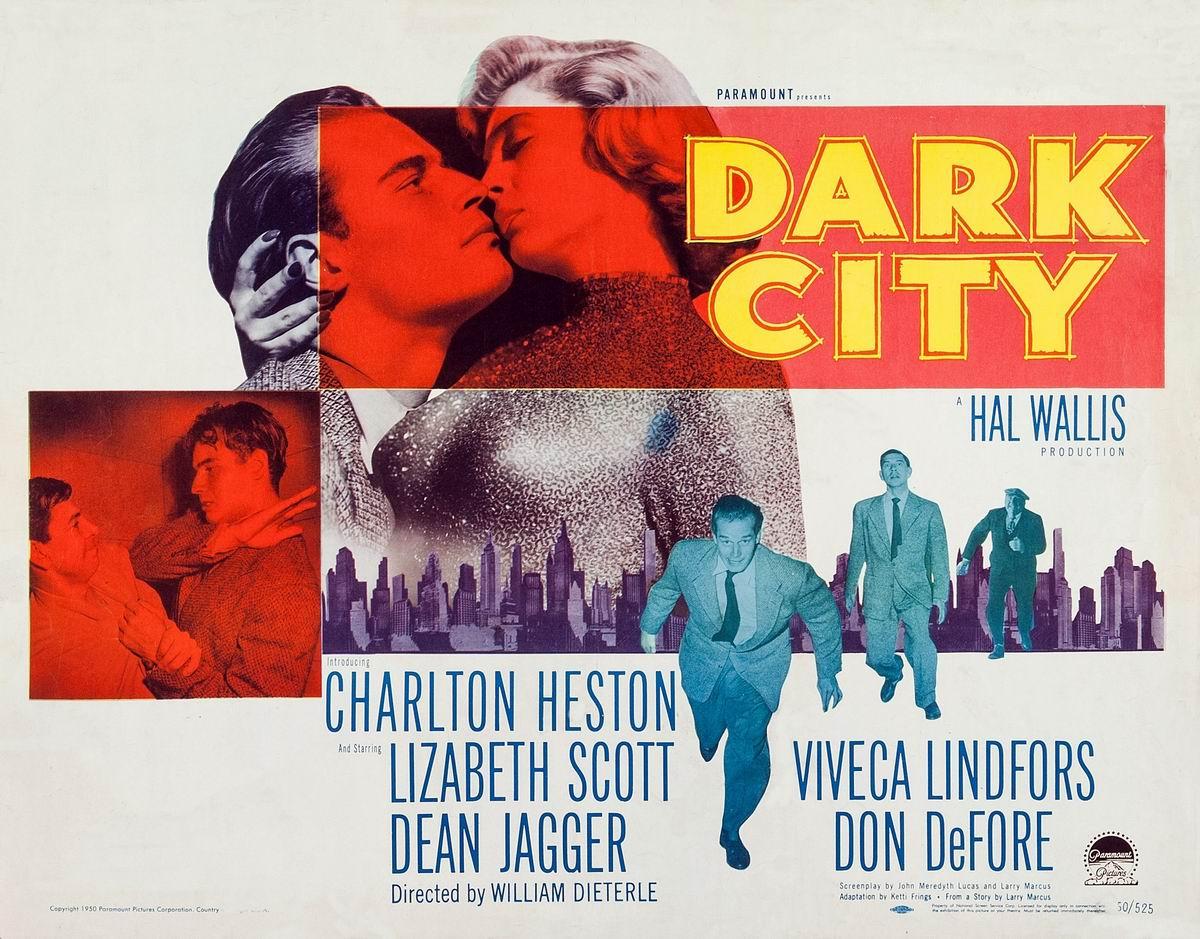 Risultati immagini per the dark city film 1950