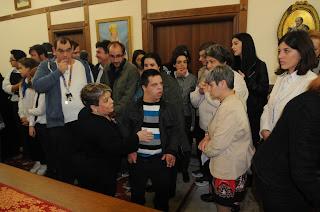 Ευχές στο Σεβασμιώτατο Μητροπολίτη μας κ.κ. Χρυσόστομο για την ονομαστική εορτή του.