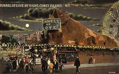 El túnel del amor, en Coney Island