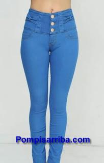 Mayoreo de pantalones económicos levanta pompa levanta gluteos de moda en Guadalajara Pantalones Ninel Conde Oggy jeans 2016