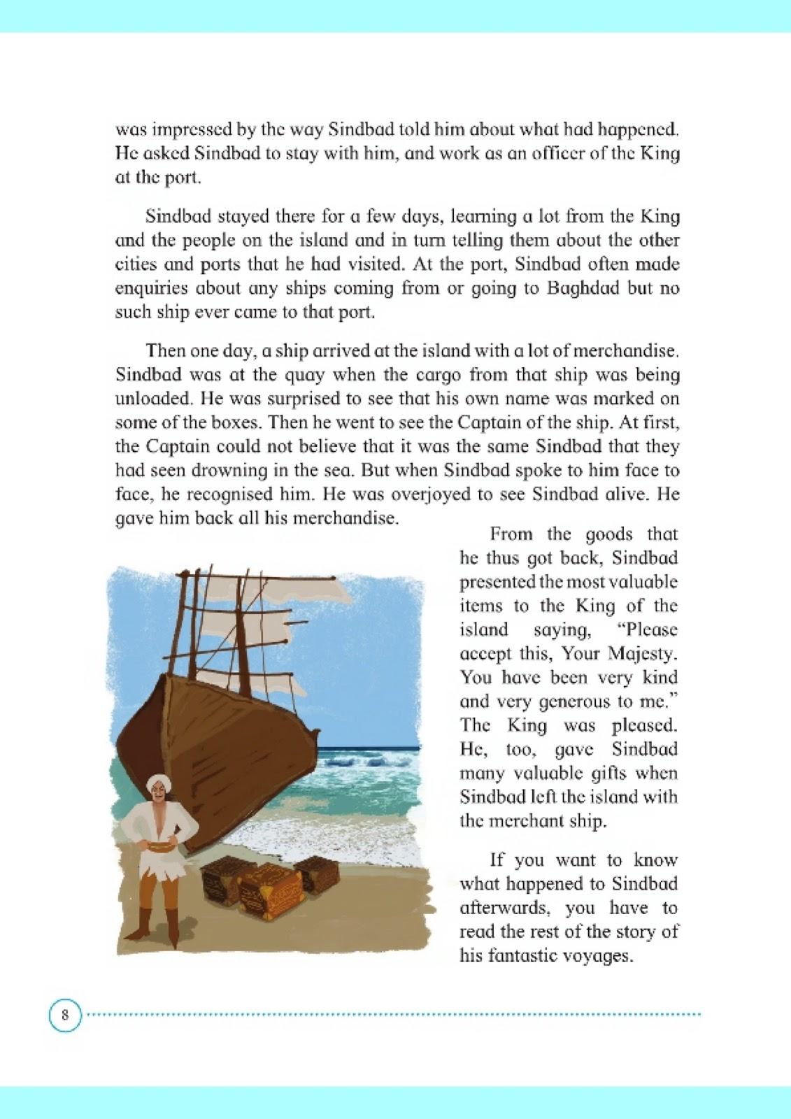 sindbad the sailor story in english