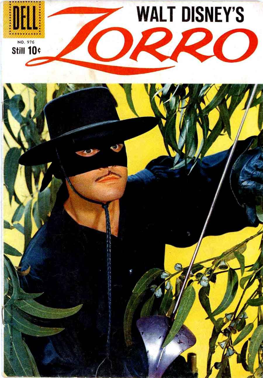Zorro / Four Color Comics v2 #976 - Alex Toth art