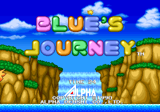 game dingdong neogeo blues journey