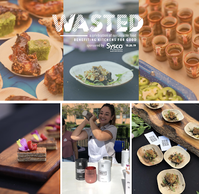 Support a great cause at WASTED: A Celebration of Sustainable Food - Sunday, October 20!