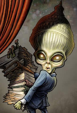 UFO lobbyist
