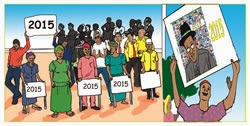 Campaign For Jonathan's Re-election Sparks Criticism
