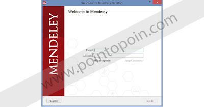 Melakukan Registrasi Mendeley